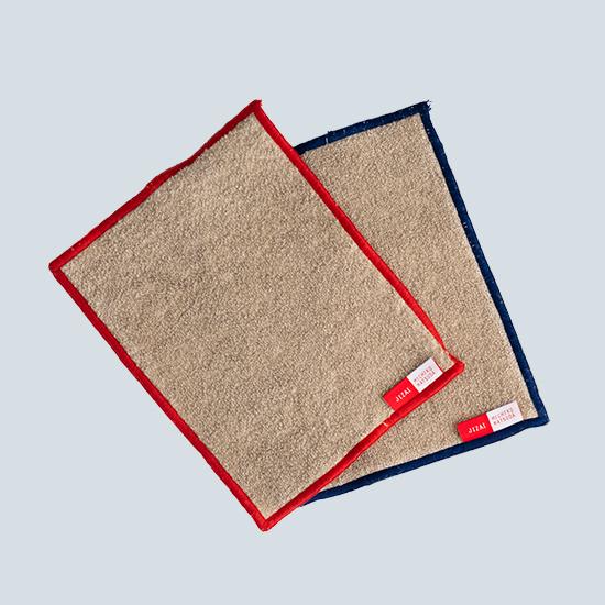 綿麻台布2色セット