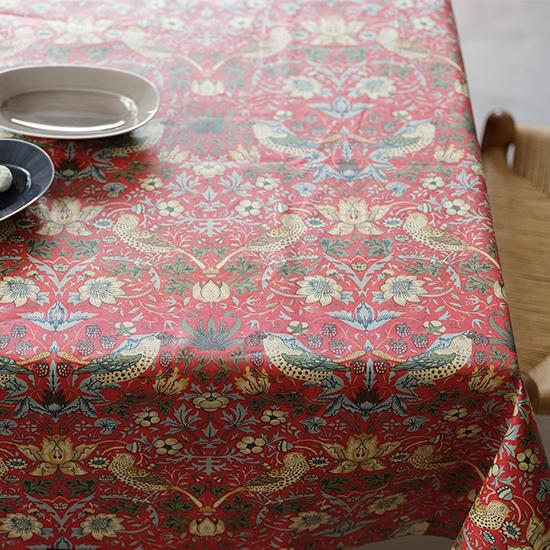 ウィリアムモリスのテーブルクロス