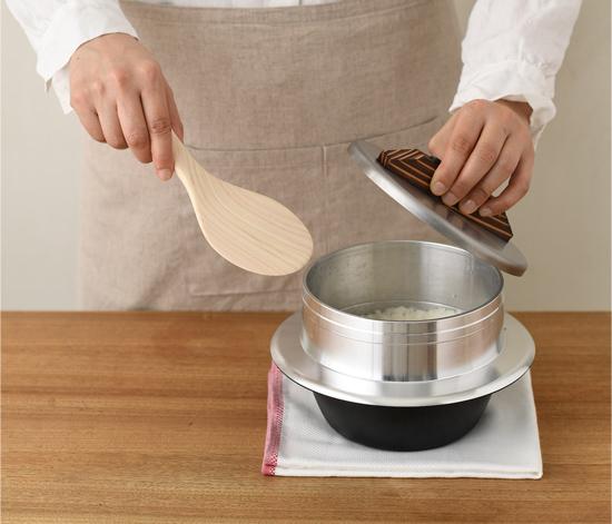 かまど炊きご飯鍋