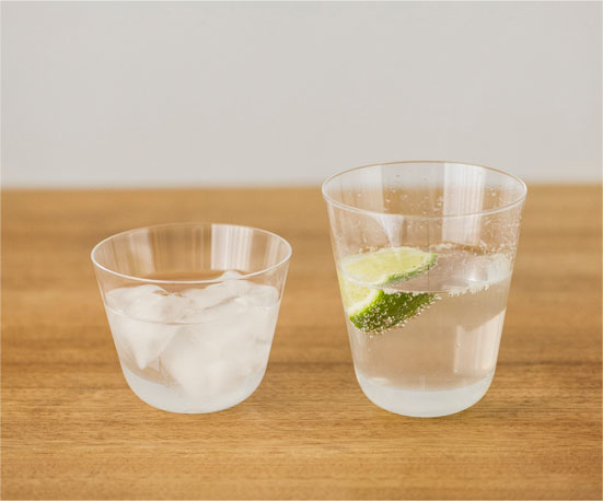 Own thin glass オールドファッション 2個セット