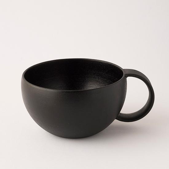 漆のマグカップ 大黒