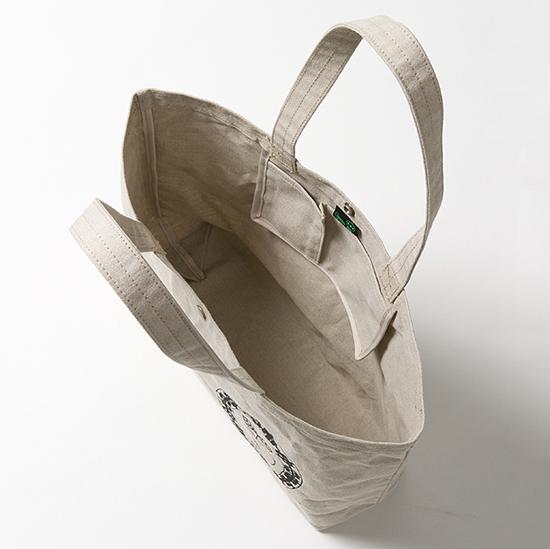リネン帆布トートバッグ Lサイズ