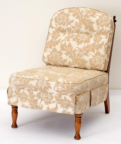 だんだんふやしていく椅子(肘なし椅子) フィオレ ホワイト