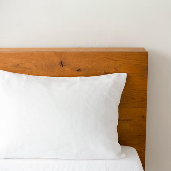 枕カバー 封筒式 ホワイト