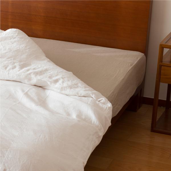 ベッド用ゴム入りシーツ