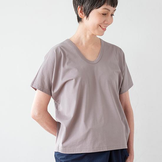 ドレープTシャツ