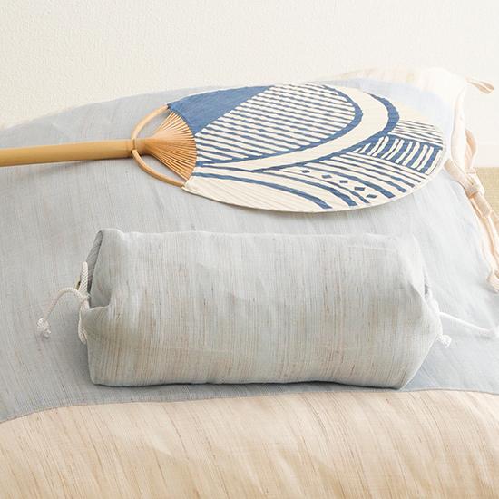 たわら枕 ブルー
