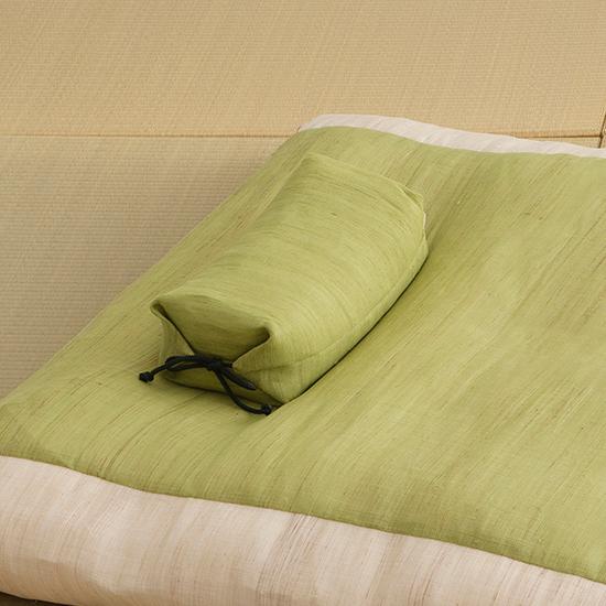 たわら枕 グリーン