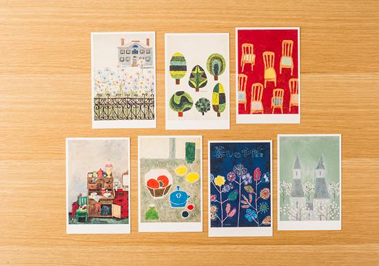 花森安治の表紙画ポストカード(7枚) B