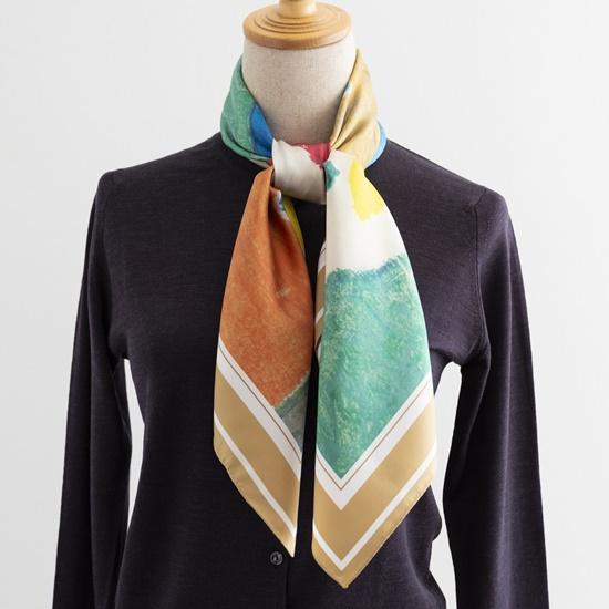花森安治のスカーフ