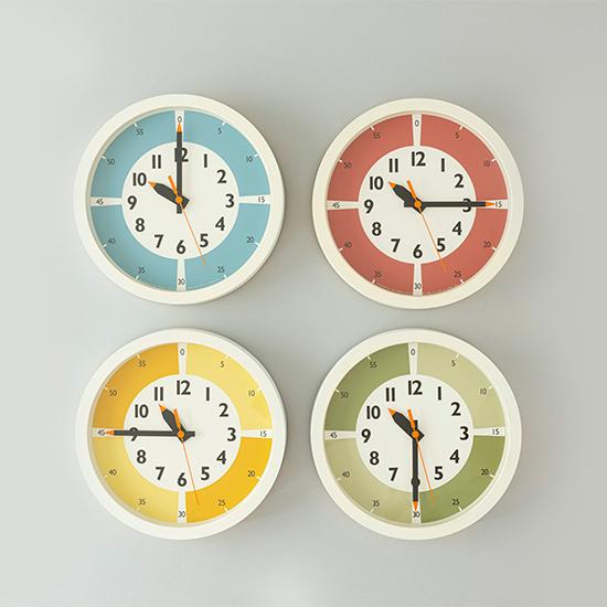ふんぷんくろっくカラー壁掛け時計