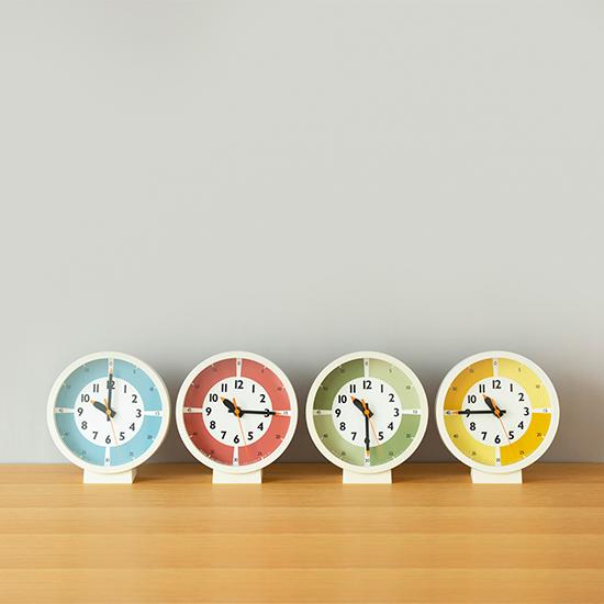 ふんぷんくろっくカラー置き時計