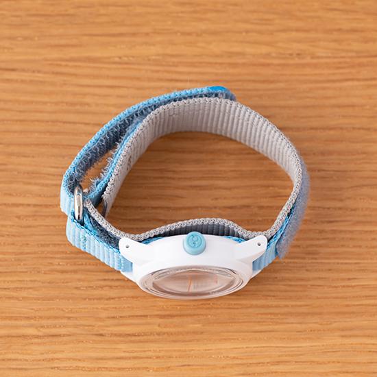 ふんぷんくろっく 腕時計 こども用 ブルー